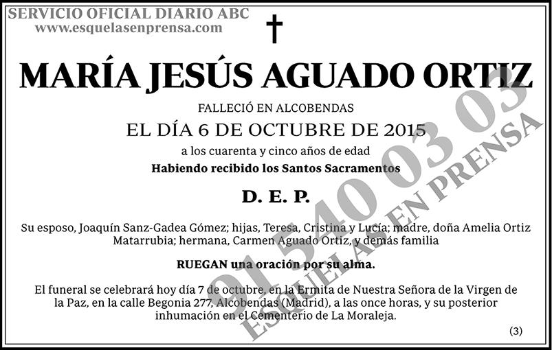 María Jesús Aguado Ortiz